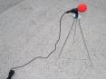 F 993 - EL. OVLÁDACÍ ZAŘÍZENÍ - Mikrofon se stojanem